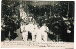 Averbode, Kroningsfeesten 21-28 Aug 1910, De Optocht Naar Den Berg (pk21656) - Scherpenheuvel-Zichem