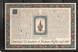 OA 6906 / ONU NEW YORK 1986 Yvert Bloc 10 ** - 40 Anniversaire De La Déclaration Des Droits De L´Homme - Non Classificati
