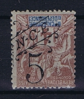 Nouvelle Caledonie  Yv Nr 54 A MH/* Avec  Charnière   Surcharge Renversée, Has A Fold - Neukaledonien