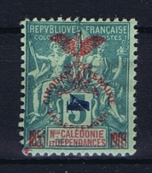 Nouvelle Caledonie  Yv Nr 83 A MH/* Avec  Charnière Type II  Signed/ Signé - Ungebraucht