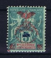 Nouvelle Caledonie  Yv Nr 83 A MH/* Avec  Charnière Type II  Signed/ Signé - Neukaledonien