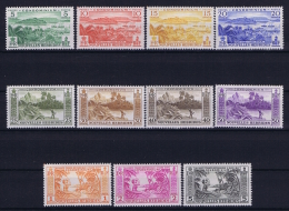 Nouvelles Hebrides  Yv Nr  175 - 185 MH/* Avec  Charnière 1957 - Leyenda Francesa