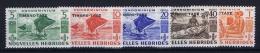 Nouvelles Hebrides  Yv Nr  Taxe 26 - 30 MH/* Avec  Charnière 1953 - Leggenda Francese