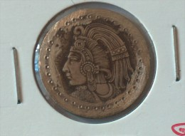 MEDAILLE MEXIQUE CURIOSITE A DETERMINER - Jetons & Médailles