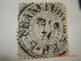 NORTH GERMAN CONFEDERATION, SCOTT# 22,  7 KR ULTRA, USED - North German Conf.