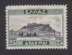 Greece, Scott #334, Mint Hinged, Acropolis, Issued 1927 - Greece