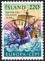 Iceland SG597 1981 Europa 220a Good/fine Used - 1944-... Republik
