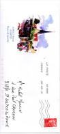 Enveloppe Illustrée Amilly Bourg Loiret ( Place Du Marché) - Entiers Postaux