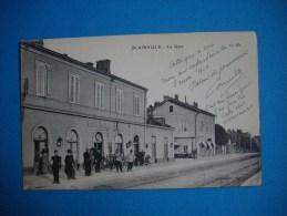 Cpa    BLAINVILLE  -  54  -  La Gare  -  Meurthe Et Moselle - France