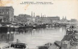 MONTLUCON - 03 -  Batiment Communal - Quartier De La Verrerie Et Le Bassin Du Canal  - VAN - - Montlucon