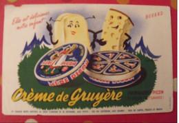 Buvard m�re picon. fromage cr�me de gruy�re st f�lix haute-savoie. vers 1950.