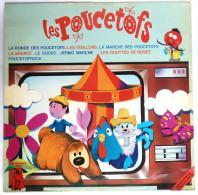 Disque Vinyle 33T LES POUCETOFS ORTF LE MANEGE ENCHANTE ORTF - MR PICKWICK MPD 405 1974 - Disques & CD