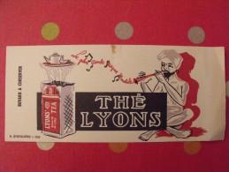 Buvard Thé Lyons. Lyion's Tea..  Vers 1950. - Blotters
