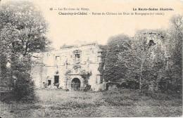 CHAUVIREY Le CHATEL - 70 - Ruines Du Chateau Des Ducs De Bourgogne - VAN - - France