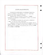 L´O N U En Somalie -  La Marine Francaise -4 Lettres -voir Tous Les Scans - Marcophilie (Lettres)