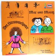 RARE Disque Vinyle 33T WILHELM BUSCH MAX UND MORITZ DER STRUWWELPETER - EUROPA E134 197? - Disques & CD