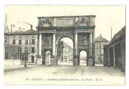 Nancy - Faubourg Sainte Catherine - La Porte - 86 - Nancy