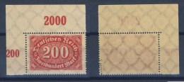 Deutsches Reich 248c P EOR Postfrisch Geprüft Oechsner (226037) - Ungebraucht