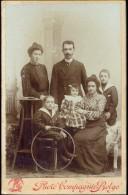 Photo Foto Hard Karton Carton - Famille Familie - Photographe Fotograaf Photo Compagnie Belge Bruxelles - Photos