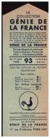 Marque-page Collection (de Livres) GENIE DE LA FRANCE (PPP0494) - Bookmarks
