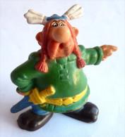 RARE FIGURINE ABRARACOURCIX GOEBEL 1ERE SERIE (2) TBE+ ( ASTERIX ) - Asterix & Obelix