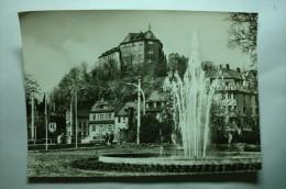 Greiz - Blick Vom Karl Liebknecht Platz Zum Oberen Schloss - Greiz