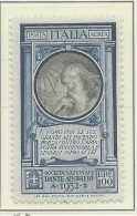 Italia - 1932 - Nuovo/new MNH - Dante Alighieri - Sass. N. A41 - 1900-44 Vittorio Emanuele III