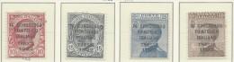 Italia - 1922 - Nuovo/new MH - Congresso Filatelico - Sass. N. 123/26 - Nuovi