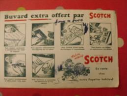 Buvard Scotch. Ruban Adhésif.. Vers 1950 - Buvards, Protège-cahiers Illustrés