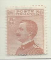 Italia - 1925 - Nuovo/new MNH - Vittorio Emanuele III - Sass. N. 183 - Nuovi