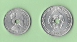 Laos 10 + 20 Cents 1952 - Laos