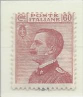 Italia - 1917/20 - Nuovo/new MH - Vittorio Emanuele III - Sass. N. 111 - 1900-44 Vittorio Emanuele III