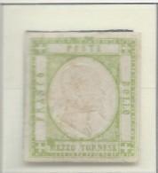 Italia - 1861 - Nuovo/new MH - Emissioni Per Le Province Napoletana - Sass. N. 17 - 1861-78 Vittorio Emanuele II