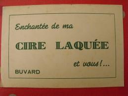 Buvard Enchanté De Ma Cire Laquée Et Vous !.... Vers 1950 - Buvards, Protège-cahiers Illustrés