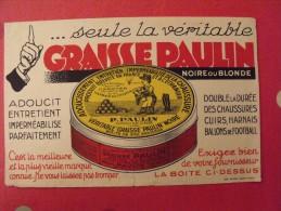Buvard Graisse Paulin.. Vers 1950 - C