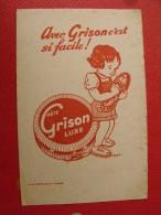Buvard Cirage Grison. Vers 1950 - Vloeipapier