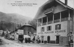 74 LE FAYET SAINT GERVAIS LES BAINS  HOTEL GRANGE  DU BONNANT ET LE PRARION  VOITURE ATTELEE - Saint-Gervais-les-Bains