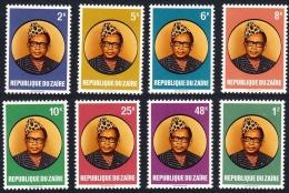 ZAIRE 1978 - Président Mobutu - 8 Val ** Neufs // Mnh - 1971-79: Ungebraucht