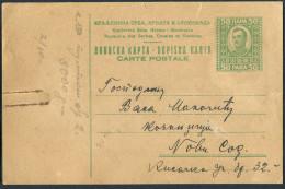 8. YUGOSLAVIA Kingdom Of SHS 1924 Postal Stationary ''CARTE POSTALE''-36mm - Postal Stationery