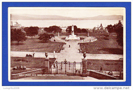 WELL PARK AND WAR MEMORIAL, GREENOCK - Renfrewshire