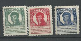 1927 MH Poland, Polen, Pologne,ongebruikt - Ongebruikt