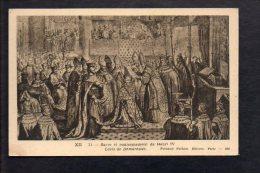 Histoire - Sacre Et Couronnement De Henri IV (4) - Histoire
