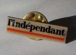 L'indépendant Presse Journal - Pin's