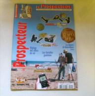 Le  Prospecteur N 94  2012 - Livres, BD, Revues