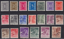 3599. Indonesia, 1949, Definitive, Used (o) - Indonésie