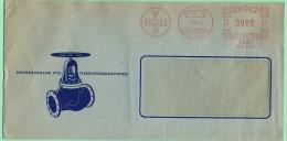 S4. EMA / Freistempel. 0020. 4521. Von Roll  Klus 7.9.51 (format= 223x111) Robinets D´eau. - Frankiermaschinen (FraMA)