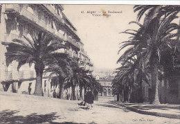 Alger - Le Boulevard Victor-Hugo (animée, Tricycle) - Alger