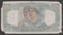 France,1946,1000 Francs,PR. - 1 000 F 1945-1950 ''Minerve Et Hercule''