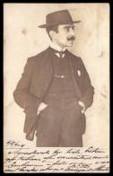 Postal Fotografico 1904 Assinado Domingos ...(?) PORTO. Old Real Photo Private Postcard PORTUGAL - Porto