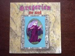 """GREGORIAN """"so Sad"""" 45t - Religion & Gospel"""